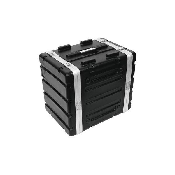 Rack Plastic KR-19, 8Unitati, DD, Negru