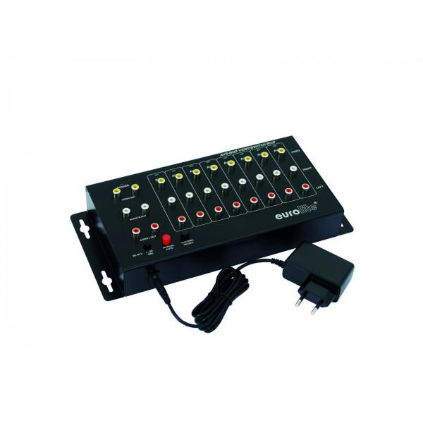 Distribuitor video EUROLITE AVS-802 switch 8in2