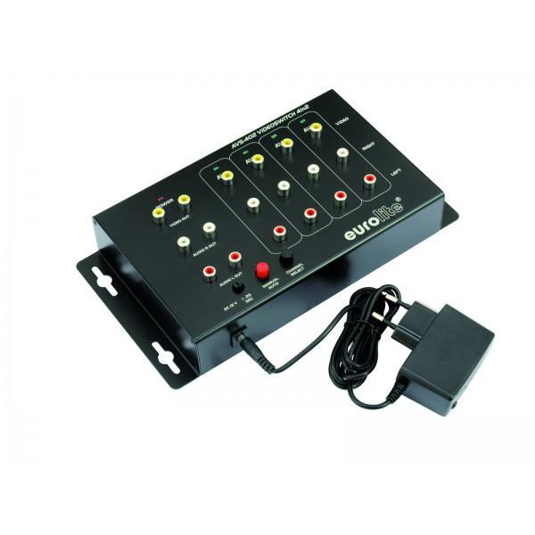 Distribuitor video EUROLITE AVS-402 Switch 4in2