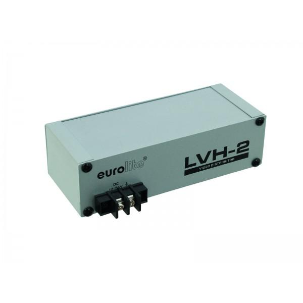 EUROLITE LVH-2 S-video distribution amp