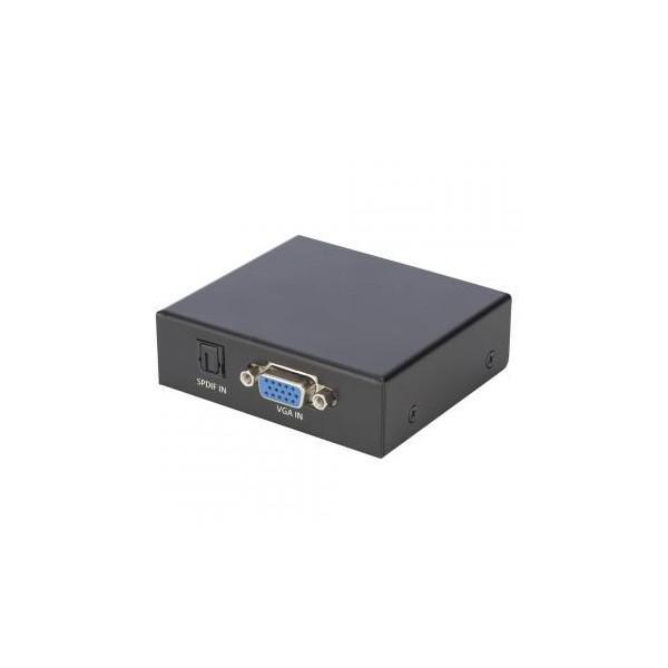 CARDINAL DVM HDMI convertor (VGA) DVM HDT VAHD, IN: VGA / audio (stereo RCA + SPDIF)   OUT: HDMI