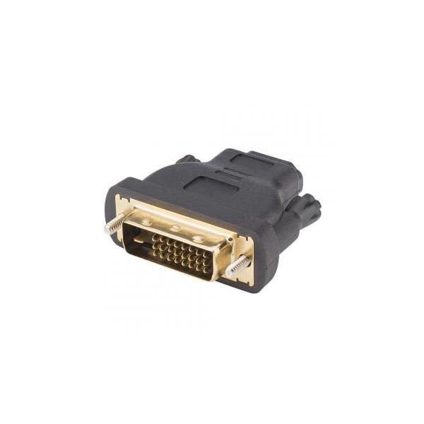 adaptor profesional Basic| HDMI mama/ DVI tata, negru