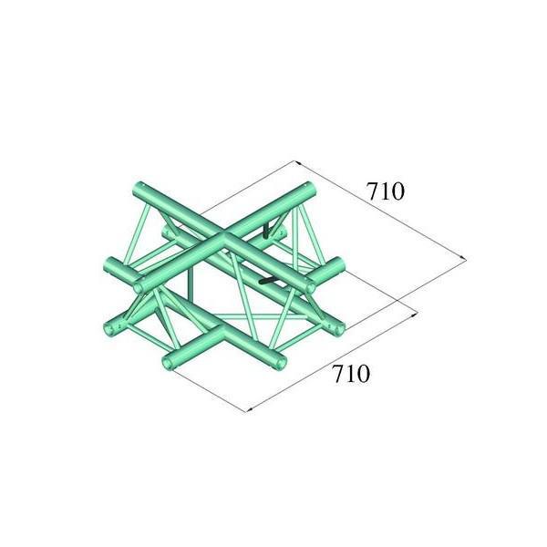 ALUTRUSS TRILOCK 6082AC-41 Imbinare 4 laturii
