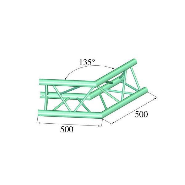 ALUTRUSS TRILOCK 6082AC-23 - Unghi 135┬░