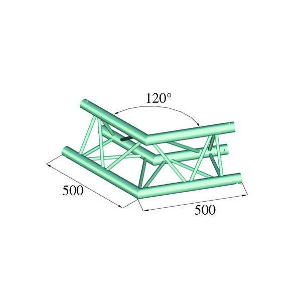 ALUTRUSS TRILOCK 6082AC-22 - Unghi 120┬░