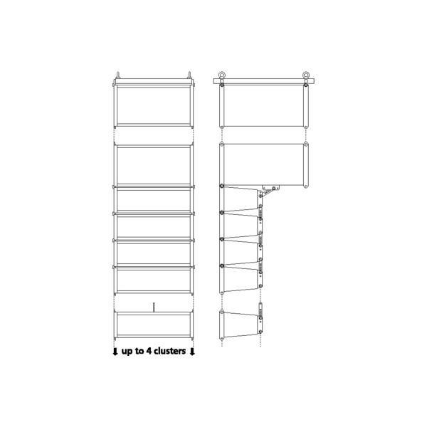 Mini Line Array Stage Line L-RAY/1000 - Mini Line Array Stage Line L-RAY/1000
