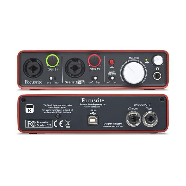 Interfata Audio FOCUSRITE Scarlett 2i2