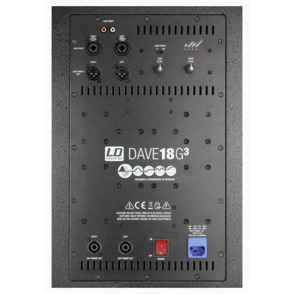LD Systems Dave 18 G3 - LD Systems Dave 18 G3