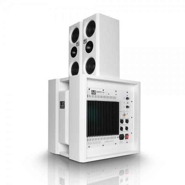 Sistem LD SYSTEMS DAVE 8 XS WHITE - Sistem LD SYSTEMS DAVE 8 XS WHITE