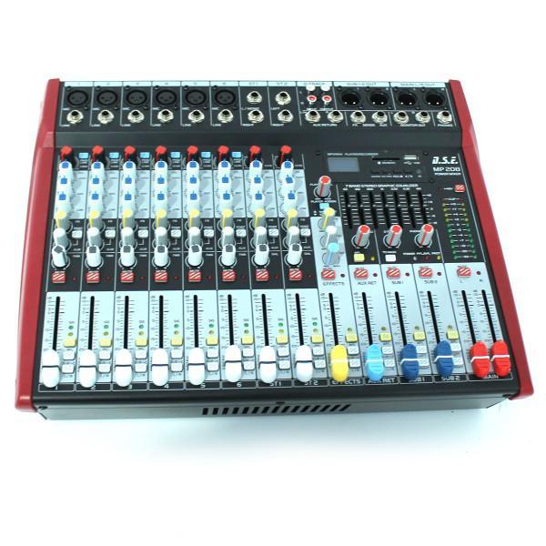 MP208 - mixer amplificat