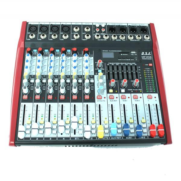 MP206 - mixer amplificat