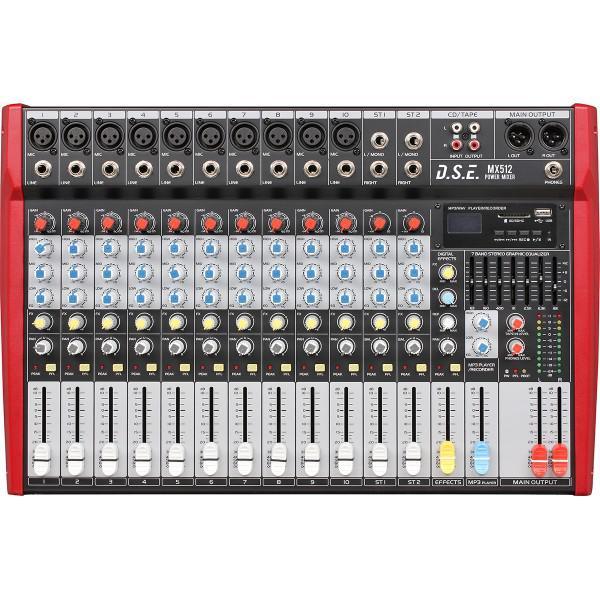 MX512 - mixer amplificat