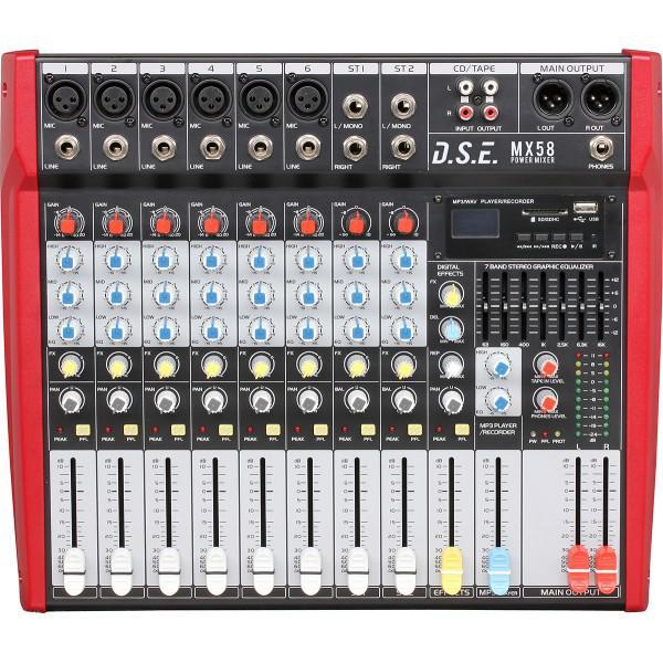 MX58 - mixer amplificat