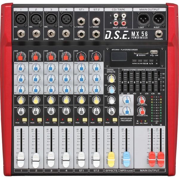 MX56 - mixer amplificat