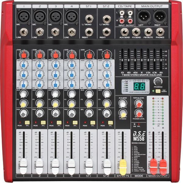 MS58 - mixer amplificat