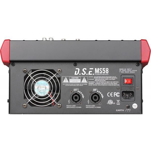 MS58 - mixer amplificat - MS58 - mixer amplificat