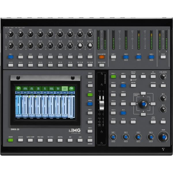Stage Line DMIX-20 - mixer digital - Stage Line DMIX-20 - mixer digital