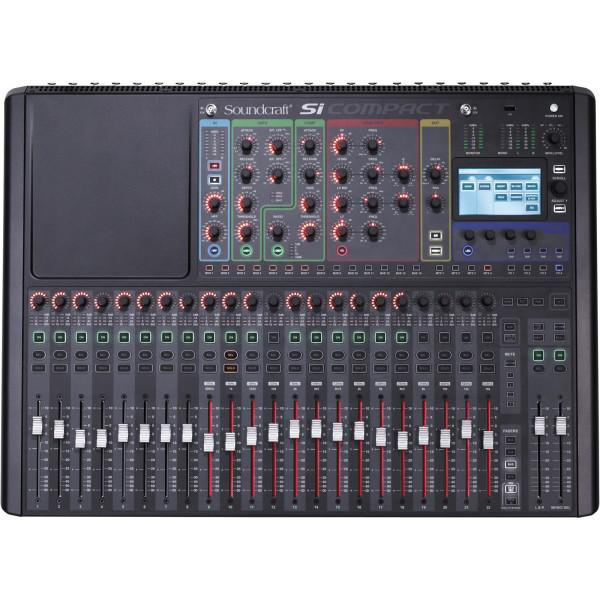 Mixer Digital SoundCraft SI Compact 24
