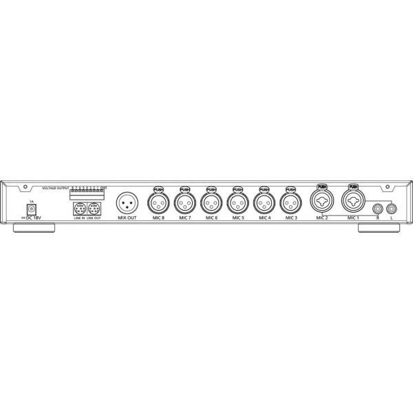 JTS CS-8 Mixer - JTS CS-8 Mixer