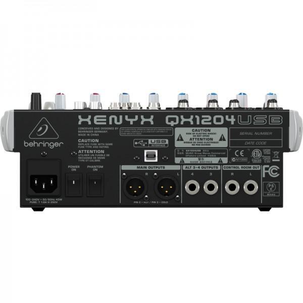 BEHRINGER Xenyx QX1204 USB - BEHRINGER Xenyx QX1204 USB