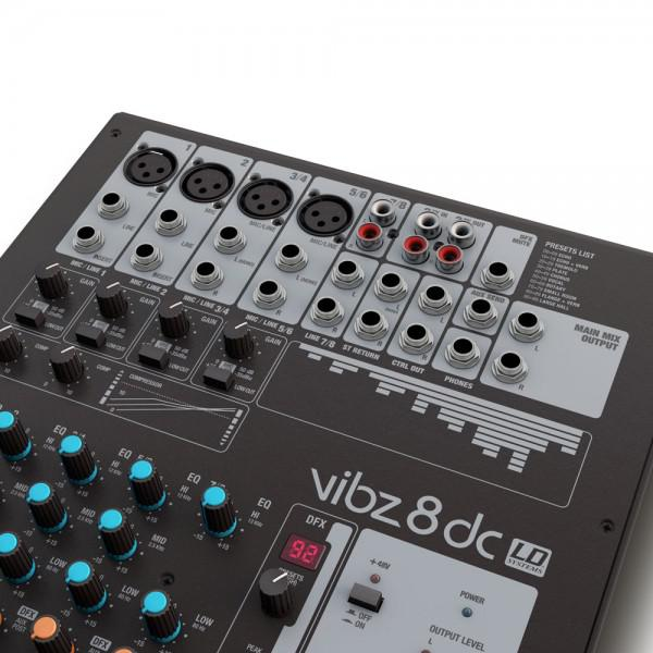 LD Systems VIBZ 8 DC - LD Systems VIBZ 8 DC