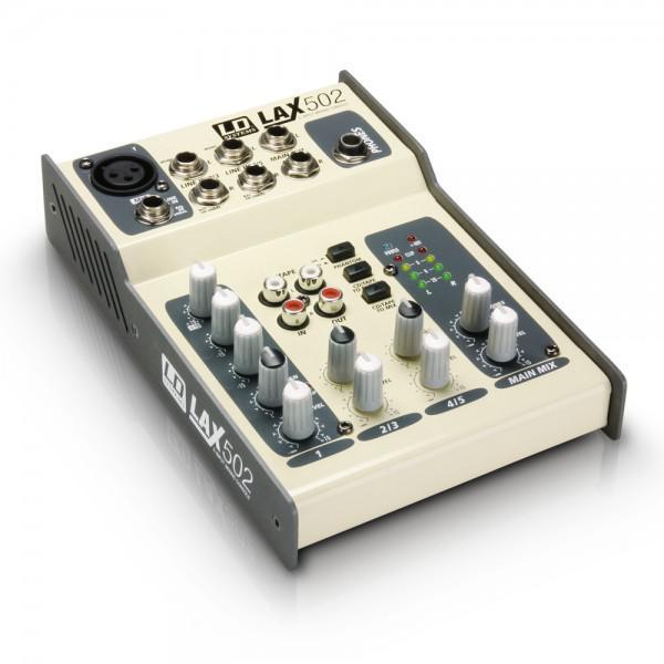 Mixer LD-SYSTEMS LAX 502 - Mixer LD-SYSTEMS LAX 502