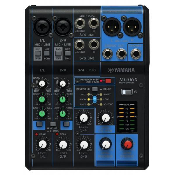 Mixer Pasiv Yamaha MG06X