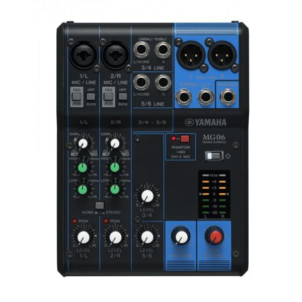 Mixer Pasiv Yamaha MG06