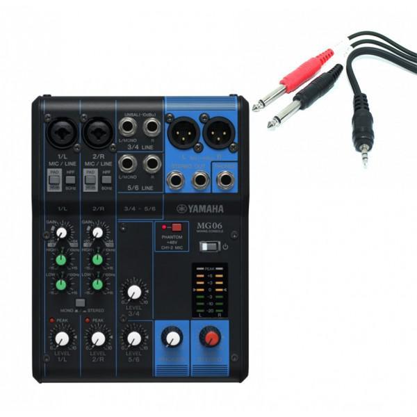 Mixer Pasiv Yamaha MG06 - Mixer Pasiv Yamaha MG06