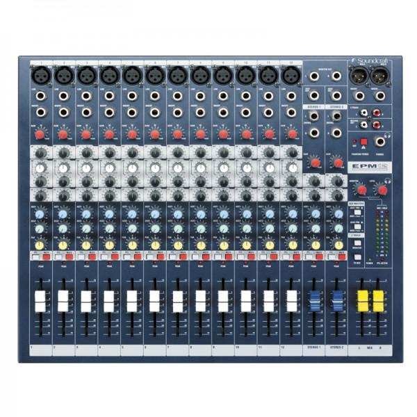 Mixer Analog SoundCraft EPM12 - Mixer Analog SoundCraft EPM12