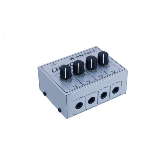 Mixer audio Omnitronic LH-010