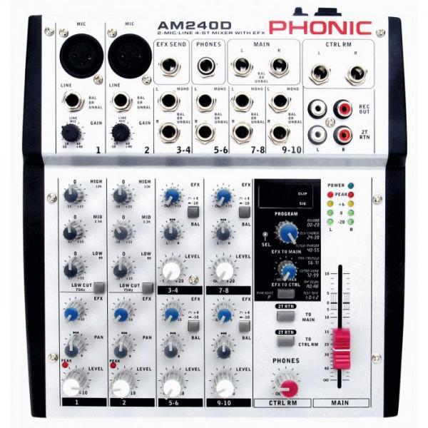 Phonic AM 240D - Phonic AM 240D