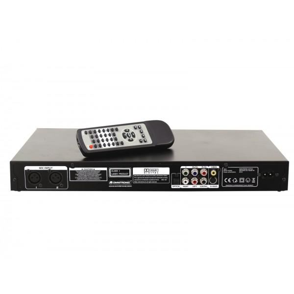 OMNITRONIC KVP-101 - Karaoke video player - OMNITRONIC KVP-101 - Karaoke video player