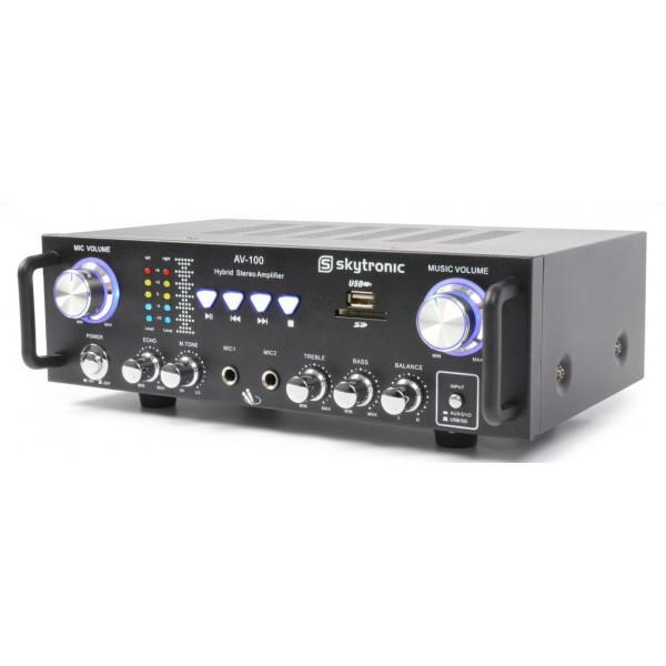 Amplificator Karaoke AV-100 MP3