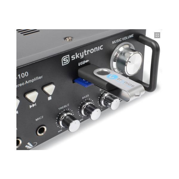 Amplificator Karaoke AV-100 MP3 - Amplificator Karaoke AV-100 MP3