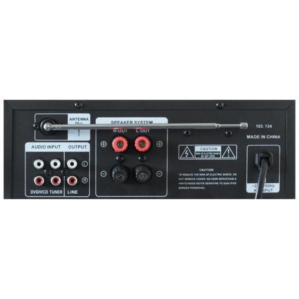 Amplificator Karaoke cu USB/SD & Tuner FM