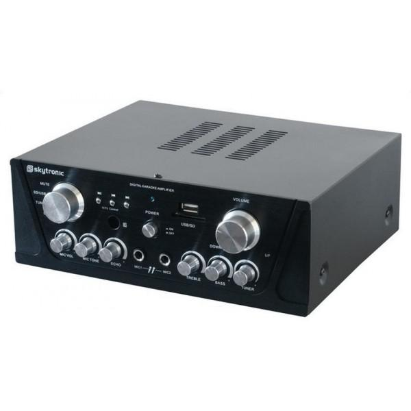Amplificator Karaoke cu USB/SD & Tuner FM - Amplificator Karaoke cu USB/SD & Tuner FM