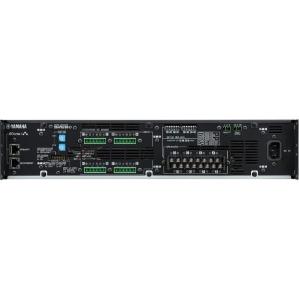 Yamaha XMV8280D Amplificator 8 x 280 Watt/4 Ohm - Yamaha XMV8280D Amplificator 8 x 280 Watt/4 Ohm