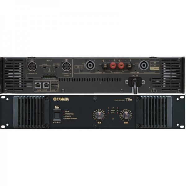 Yamaha T5n Amplificator 2 x 2500W/4Ohm - 2U cu capacitatea de a fi controlat de la distanta