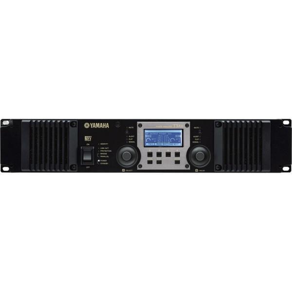 Yamaha TX4n Amplificator DSP 2 x 2000W/4Ohm - 2U, IP Remote, AES/EBU + Analog I/O, Mini-YGDAI