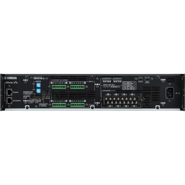 Yamaha XMV8140D Amplificator 8 x 280 Watt/4 Ohm - Yamaha XMV8140D Amplificator 8 x 280 Watt/4 Ohm