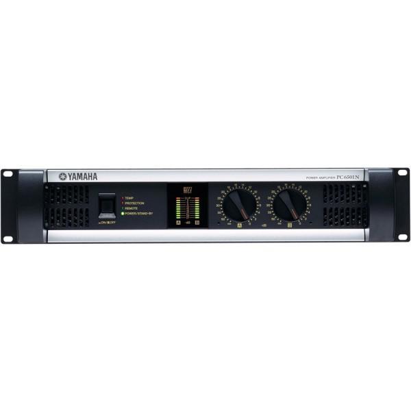 Yamaha PC6501N. Amplificator 2 x 930W/4Ohm - 2U cu posibilitatea de a fi controlat de la distanta - Yamaha PC6501N. Amplificator 2 x 930W/4Ohm - 2U cu posibilitatea de a fi controlat de la distanta