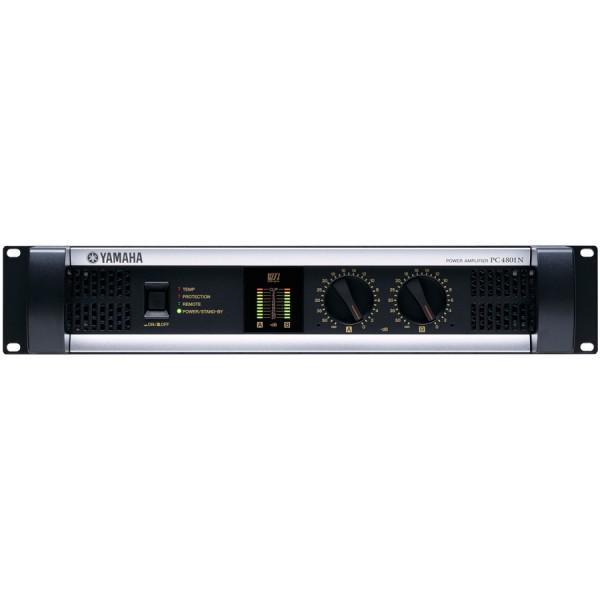 Yamaha PC4801N Amplificator 2 x 700W/4Ohm - 2U cu posibilitatea de a fi controlat de la distanta