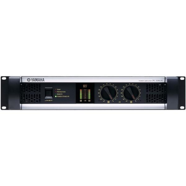 Yamaha PC3301N Amplificator 2 x 550W/4Ohm, 1x625W@100V - 2U cu posibilitatea de a fi controlat de la distanta