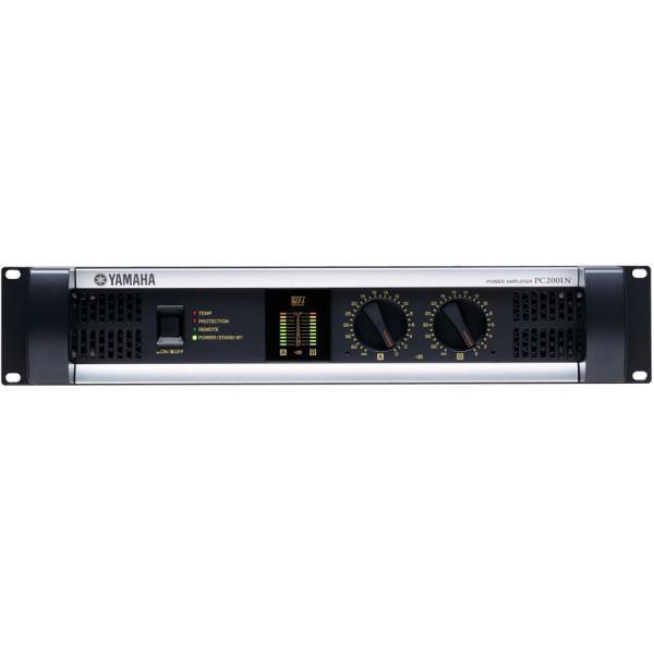 Yamaha PC2001N Amplificator 2 x 400W/4Ohm - 2U cu posibilitatea de a fi controlat de la distanta -  Yamaha PC2001N Amplificator 2 x 400W/4Ohm - 2U cu posibilitatea de a fi controlat de la distanta