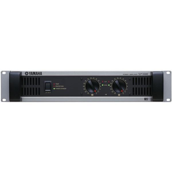 Yamaha XP3500  Amplificator 2 x 1000W/2Ohmi - 2U, HPF, GPI monitorizare si control