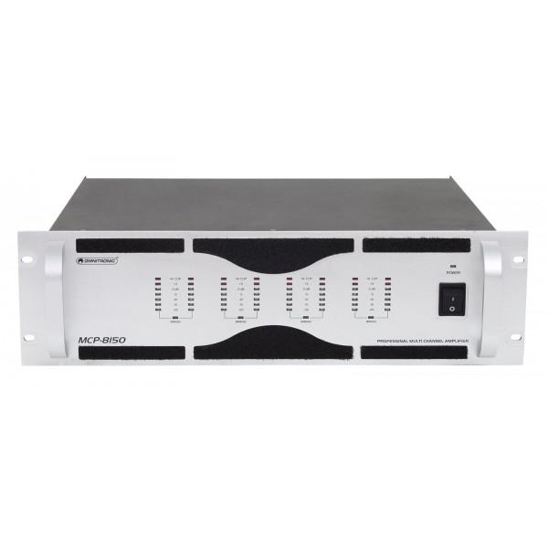 Amplificator 8 Canale OMNITRONIC MCP-8150 - Amplificator 8 Canale OMNITRONIC MCP-8150
