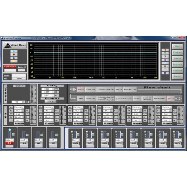 Crossover -procesor sunet 28