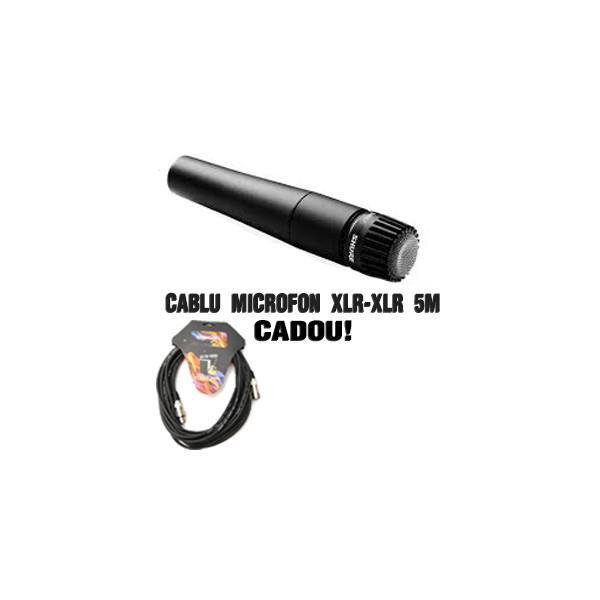 Microfon cu Fir Shure SM57 de Instrumente