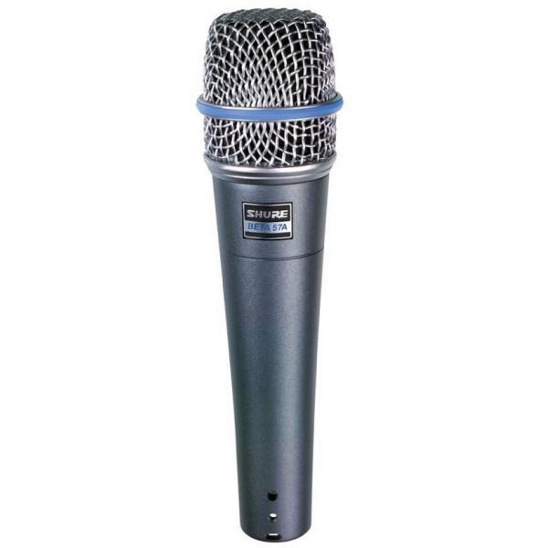 Microfon cu Fir Shure Beta 57A de Instrumente